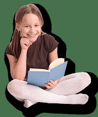 The Cottonwood School book girl